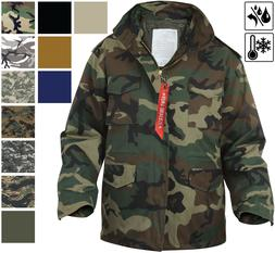 military m 65 field jacket and liner