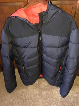 Michael Kors MK Puffer Jacket Men's Size M Carbon Black Na
