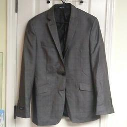 Structure Modern Fit Suit Jacket Gray 39R New with Tags