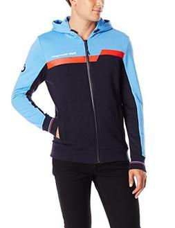 PUMA Men's BMW Motorsport Hooded Sweat Jacket, Marina Blue,
