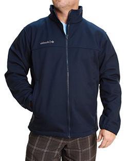 Columbia Mens Mt.Village Softshell Jacket, Navy, Large