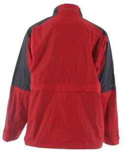 Stormtech Nautilus Packable Storm Jacket Red/Grey Sz S