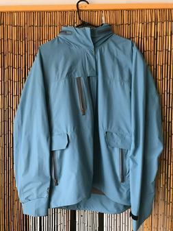 NEW!! 66°North Mens Size L Blue Kaldbakur GORE-TEX Paclite