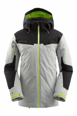 NEW SPYDER CHAMBERS JACKET GORETEX LE MENS ALLOY INSULATED S