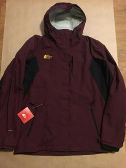 NEW THE NORTH FACE CINDER TRI JACKET 3 IN 1 MENS BURGUNDY BL