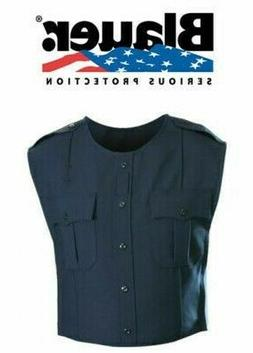 New Blauer DARK NAVY Polyester ArmorSkin Vest Outer Carrier
