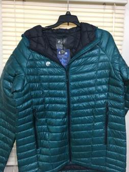 NEW Mountain Hardwear Ghost Whisperer Hooded Down Jacket Div