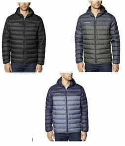 NEW Men's Eddie Bauer Cirruslite Jacket Puffer Hooded White