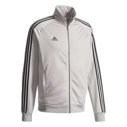 NEW ADIDAS MEN'S ESSENTIALS 3 STRIPES TRICOT TRACK JACKET~