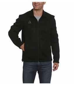 NEW Men's Gerry Heavy Rib-Knit Full Zip Fleece Lined Jacket