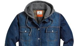 New Men's Legendery Concealed Carry Denim Hideout Jacket Wit