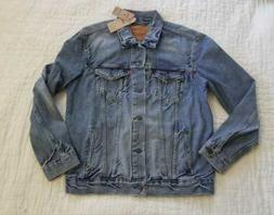 NEW MEN'S M L XL XXL 3XL  LEVI'S TRUCKER JEAN JACKET IN THE