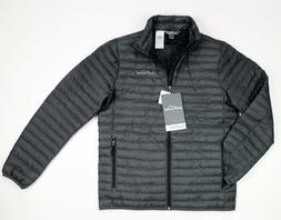 New Eddie Bauer Men's Microlight Traveler Down Jacket Grey S