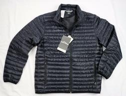 New Eddie Bauer Men's Microlight Traveler Down Jacket Black