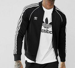 adidas Originals Men's Superstar Track Jacket, Black, M
