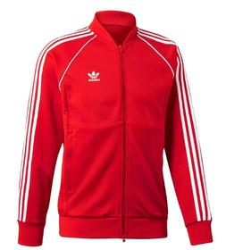 NEW MEN'S ADIDAS ORIGINALS SUPERSTAR TRACK JACKET ~SIZE LARG