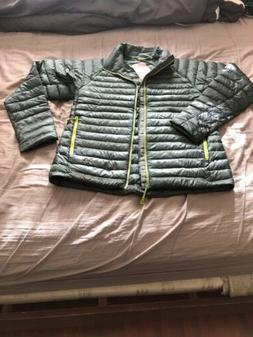 NEW THE NORTH FACE  MEN'S QUINCE JACKET SIZE S.  SPRUCE