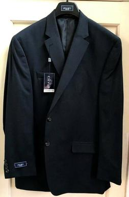 NEW Chaps Men's Suit Separates  Navy Suit Jacket  Blazer Blu