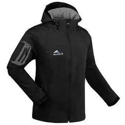 New Men Soft Shell Outdoor Jacket Waterproof Hiking Camping