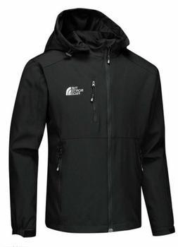 New The North Face Mens Cinder Black Jacket Coat Large