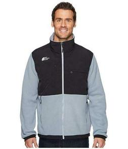 New Mens The North Face Denali Jacket Coat Black Grey Blue G