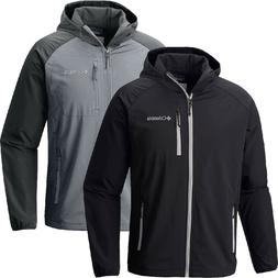 "New Mens Columbia ""Green Lake"" Omni-Shield Hooded Softshell"