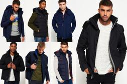 New Mens Superdry Jackets Selection - Various Styles & Colou