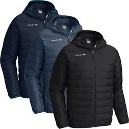 New Mens Columbia Lake 22 Heat Seal / Shield 650-Fill Hooded