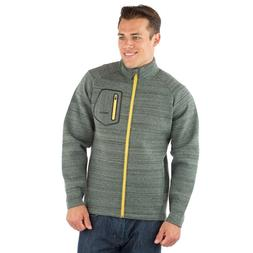 NEW Mens Avalanche Midlayer Jacket Full Zip Szs S M L SHIPS