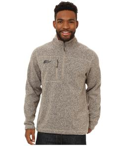 New Mens The North Face Gordon Lyon 1/4 Zip Jacket Beige Nav