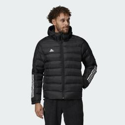 New Adidas Outdoor Itavic 3-Stripe Hooded Performance Jacket