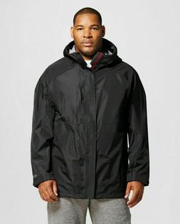 NEW -  Men's Big & Tall C9 Champion Black Waterproof Jacket
