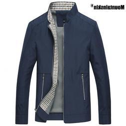 Mountainskin New Spring Autumn Men's Jackets Casual Coats So