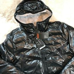 New Nike Synthetic Fill Sportswear Windrunner Jacket Black C
