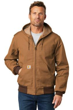New Carhartt Thermal Lined Duck Active Winter Jacket . S To