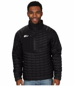 NEW The North Face ThermoBall Pullover Jacket Men's Black Si