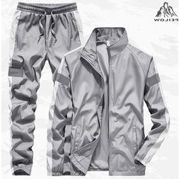 New Tracksuit <font><b>Men</b></font> Two Piece Clothing Set