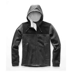 New Mens The North Face Alphabet City Fleece Jacket Coat Hoo