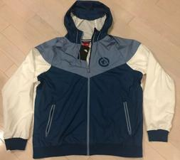 new with tags nhl winnipeg jets windbreaker