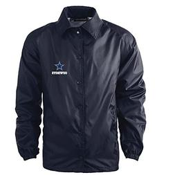 Dunbrooke Apparel NFL Dallas Cowboys Men's Coaches Windbreak