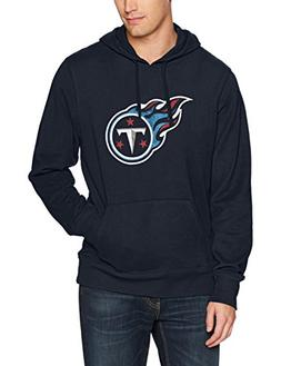 NFL Tennessee Titans Men's Ots Fleece Hoodie Distressed, XX-
