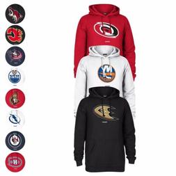 "NHL Reebok Team Color ""Jersey Crest"" Primary Logo Pullover F"