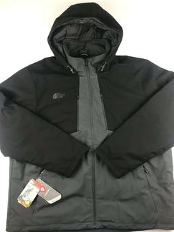 North Face Mens 3XL Black Gray Apex Elevation Insulated Wate