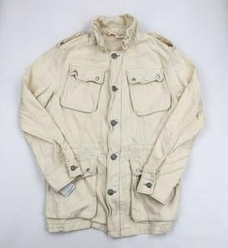Free People Not Your Brother's Military Style Jacket Size La