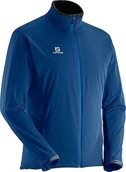 Salomon Nova Softshell Jacket - Men's Midnight Blue Small