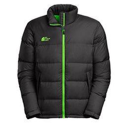 The North Face Men's Nuptse Jacket Asphalt Grey Size XX-Larg