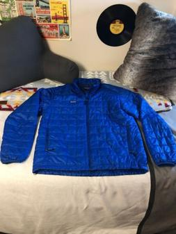NWOT Mens Patagonia Nano Puff Jacket Viking Blue, Men's La