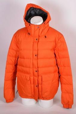 NWOT MENS NIKE SB 500 DOWN PUFFY SNOWBOARD JACKET XL orange