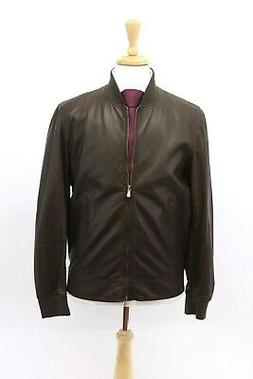 nwt 4995 mens 100 percent leather bomber
