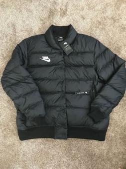 NWT Nike 928819-010 Men's Sportswear Down Fill Jacket Black/